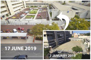 SCGH Piazza progress 2019
