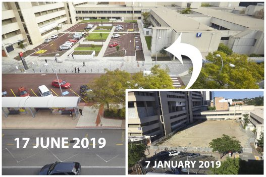 SCGH Piazza progress 2019